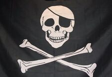 Flying wave 3x5 Feet Super-Poly Indoor/Outdoor cross Skeleton pirate FLAG Banner