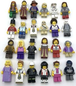 LEGO NEW MINIFIGURES YOU PICK WHAT FIGURES YOU WANT NINJA QUEEN TOWN CITY MORE