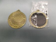 wholesale lot trophy parts lot of 25 gold Volleyball medals MARCO M1217AG