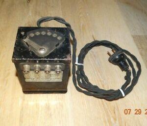 Prewar LIONEL Type W Transformer 75 Watts - WORKS GREAT!