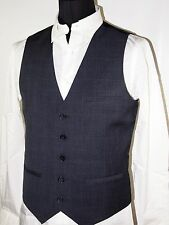 Calvin Klein twill plaid vest size xxl new with tags color blue gray