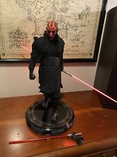 FINAL LISTING Sideshow Star Wars PF Statue Darth Maul RARE EXCL 2nd Ver #273/750