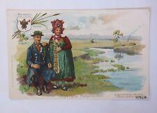 """"""" COSTUMES,Bavaroise costumes folkloriques,Haute-Bavière,Dachau """" 1900 (47194)"""