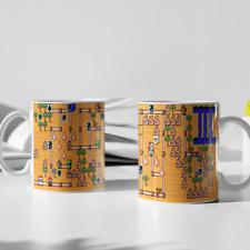 Super Mario Bros. 3 Coffee Mug 11 oz Tea White Nintendo Video Games World 2 New