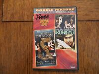 Double Feature: The Chinese Dragon, Mean Streets of Kung Fu - 2005 DVD GOOD!!!
