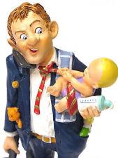 Profisti-Hausmann Houseman passate papà padre-personaggio scultura 20613s