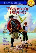 A Stepping Stone Book(TM): Treasure Island by Robert Louis Stevenson and Lisa...