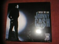 JOHNNY CASH  DOUBLE CD  I WALK THE LINE
