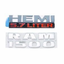 Dodge Jeep Chrysler Ram 1500 & HEMI 5.7 LITER Decal Emblem Nameplate OEM MOPAR