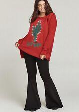 Show Me Your Mumu Bonfire Lit Up Sweater