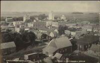 Renville MN Birdseye View c1910 Real Photo Postcard