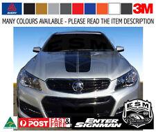 "VF HOLDEN Sedan & Wagon ""COMPLETE"" TRACK STRIPE KIT SV6 SS - Avery Supreme Wrap"