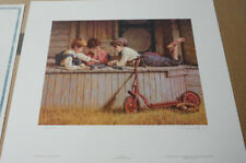 Jim Daly - Dominoes - Limited Edition Print - Signed