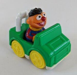 Vintage Sesame Street Ernie Car Jeep Jim Henson Productions 1993 Tyco Kids Toy
