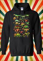 Dinosaurs Names Kinds Funny Novelty Men Women Unisex Top Hoodie Sweatshirt 1267