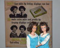 TWO Vintage Midge Barbie shown as The Double Mint Twins