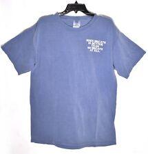 HOG'S BREATH SALOON Key West T-Shirt (Size L/Large) Blue Jean Comfort Colors NEW