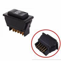5 Pin Interruttore Alzacristalli Elettrici Universal Auto Pulsante ON/OFF 12V DC