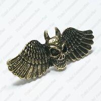 Death Angel 2 Double Finger Adjustable Ring - Beautiful Women's Jewelry - NEW