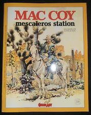 MAC COY Mescaleros Station COMIC ART