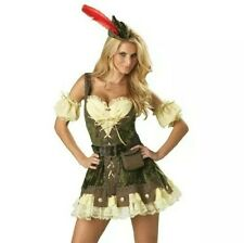 Brand new sexy robin hood party costume outfit  Size 10/12
