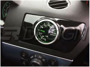 Vauxhall Astra H MK5 VXR Single Air Vent Gauge Pod adapter Gloss black ABS