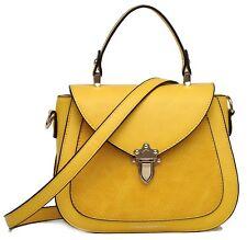Damen Handtasche Gelb Sonnengelb (Umhängetasche)