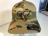 CZ Logo Embroidered MultiCam Flexfit Ball Cap S/M or L/XL