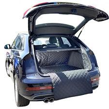 Audi Q3 (Raised Floor) Cargo Liner Trunk Mat - Quilted - 2011 to 2018 (265)