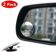 Car Blind Spot Mirror Rotatable Wide Angle Rear-view Stick-On Wing Side Mirror