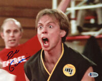 ROB GARRISON SIGNED 8x10 PHOTO TOMMY THE KARATE KID COBRA KAI RARE BECKETT BAS