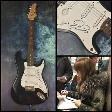 GFA Rilo Kiley Rock Star * JENNY LEWIS * Signed Electric Guitar PROOF AD1 COA