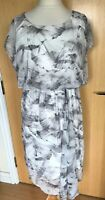 Mint Velvet Ladies Dress 16 Draped Summer Occasion Holiday New Floaty Holiday