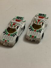 New ListingVintage Summer #S8006 1/64 Diecast Lancia Stratos #91 Racecar Set Of 2. #82