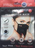 Waschbare Atemschutz Maske Ventil  3lagig Größe XS-M für Kinder und Jugendliche