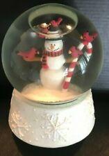 Snowman and Friends Snow Globe Teleflora
