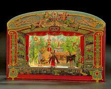 Spanisches Barocktheater Exquisites Papiertheater  24 Figuren Kulissen Bastelset