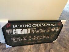 AUSTRALIA'S BOXING WORLD CHAMPIONS 1890-2013 OFFICIAL PRINT FRAMED
