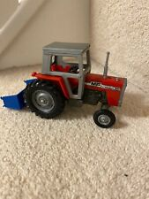 Britains Massey Ferguson 595 tractor conversion 1:32 scale - Ref001