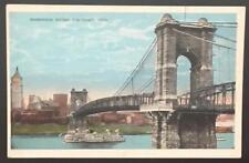 Suspension Bridge Cincinnati Ohio Cincinnati News Company 7646