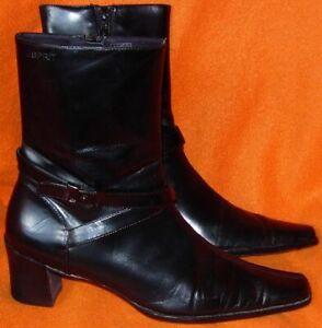 Tolle Schwarze Damen Stiefeletten Gr. 39  der Firma Esprit