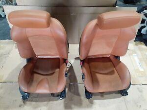 Nissan 370Z Z34 Orange Persimmon front Seats