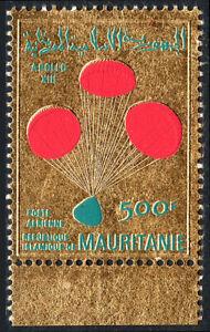 Mauritanie C104, MNH Safe Return De Apollo 13 Crew.capsule Avec Parachutes, 1970