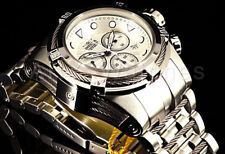Invicta Men's Bolt 23909 Silver Stainless-steel Swiss Chronograph Dress Watch