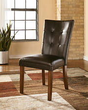 Ashley Furniture Lacey Dining Upholstered Chair D328-01 in Medium Brown