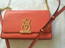 Victoria Secret Small Calfskin Cross Shoulder Bag