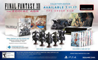 Final Fantasy XII The Zodiac Age Collectors Edition For PS4 W/ Statues Steelbook