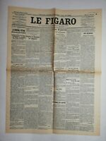 N840 La Une Du Journal Le Figaro 16 mai  1917