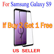 1x Full Cover Curved Clear Screen Protector Guard Film For Samsung Galaxy S9