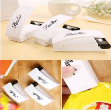 New Mini Portable Sealing Heat Handheld Plastic Bag Impluse Sealer Kitchen Tool